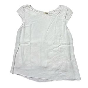 Wilfred Free Aritzia Tank Top Small Sleeve White M